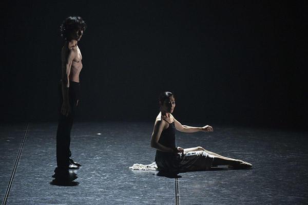 『The Well-Tempered』中村恩恵、首藤康之 撮影/瀬戸秀美