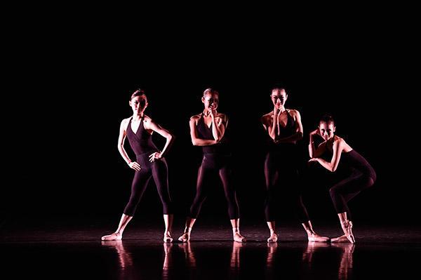 吉田都×堀内元 Ballet for the Future『Attitude』撮影/瀬戸秀美