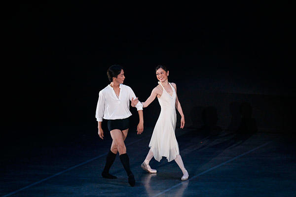 吉田都×堀内元 Ballet for the Future『La Vie』吉田都、堀内元 撮影/瀬戸秀美