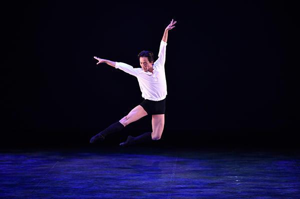 吉田都×堀内元 Ballet for the Future『La Vie』堀内元 撮影/瀬戸秀美