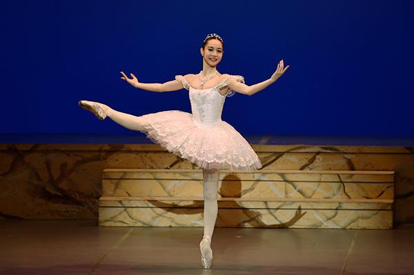 「Ballet Princess 〜バレエの世界のお姫様たち〜」 池田理沙子 撮影/瀬戸秀美