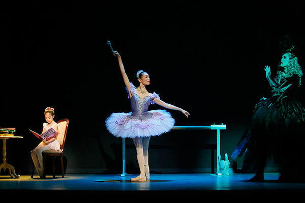 「Ballet Princess 〜バレエの世界のお姫様たち〜」 大谷莉々、長田佳世、高岸直樹 撮影/瀬戸秀美