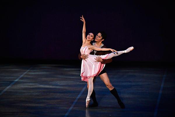 吉田都×堀内元 Ballet for the Future 2016 『Romantique』撮影:瀬戸秀美