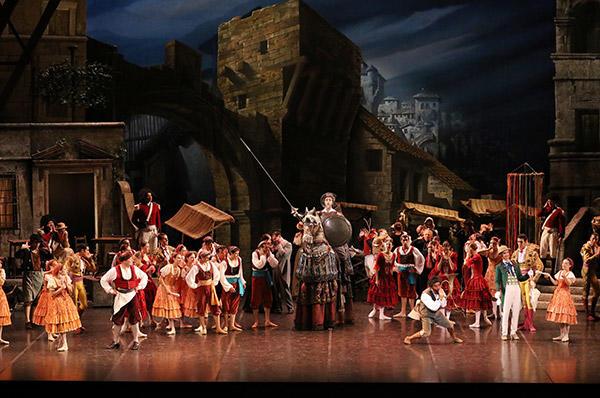 ミラノ・スカラ座バレエ団『ドン・キホーテ』photo:Kiyonori Hasegawa