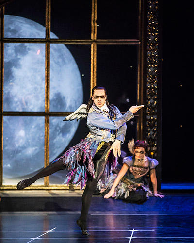 Matthew Bourne's SLEEPING BEAUTY. Christopher Marney (Count Lilac). Photo by Johan Persson