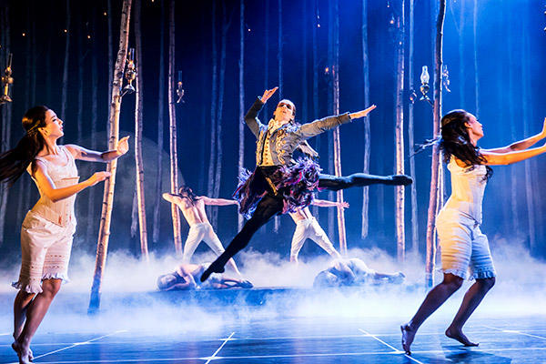Matthew Bourne's SLEEPING BEAUTY. Liam Mower (Count Lilac). Photo by Johan Persson