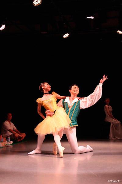 Studio de Danse Fusion-vol.5-「偉大なる作曲家と音楽のための舞踏会」(C) Chacott