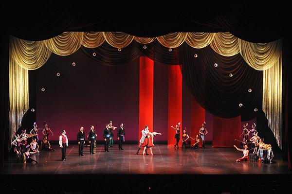 「Ballet クレアシオン」バレエ協会『ホフマンの恋』 撮影/根本浩太郎 スタッフ・テス