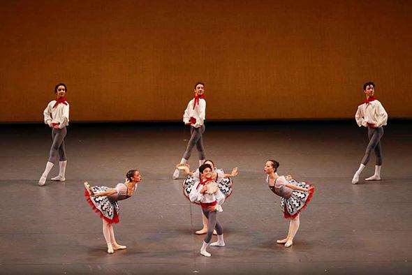 ウィーン国立歌劇場バレエ学校 撮影・瀬戸秀美