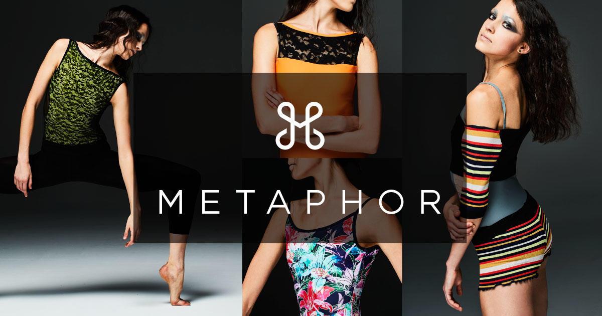 【展開店舗拡大】ニューテイストバレエレッスンウェア『METAPHOR(メタファ)』